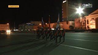 Репетиция Парада Победы с военной техникой прошла в Ставрополе