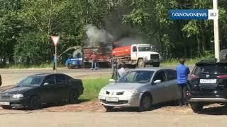 В Оренбурге горело несколько автомобилей