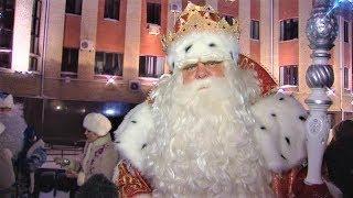 Главный Дед Мороз страны поздравил югорчан с днём рождения округа