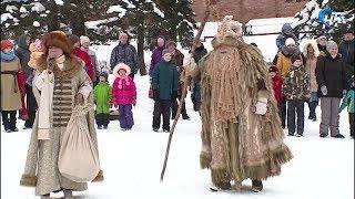 В Великом Новгороде Масленичную неделю открыл Дед Трескун