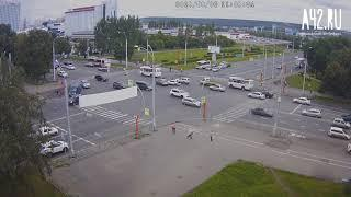 ДТП на Ленина - Терешковой в Кемерове