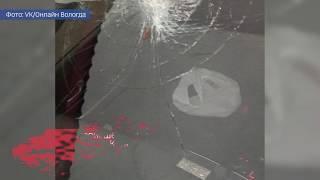 Оборвавшиеся троллейбусные провода разбили стекло иномарки
