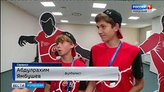 Мордовские футболисты подавали мячи звездам мирового футбола