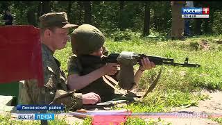 В Пензе гвардейцы завершили полевой выход боевыми стрельбами