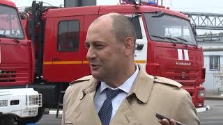 Новое пожарное депо в Стенькине