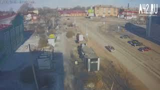 ДТП в Киселевске 8 марта 2018 года