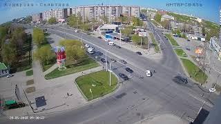 ДТП Челябинск Комарова-Салютная 20.05.2018 г.