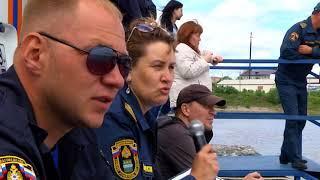 Соревнования по водно-моторному спорту среди инспекторов ГИМС прошли в Благовещенске.