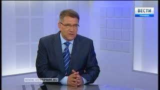 «Вести: Приморье. Интервью» с Романом Охотниковым
