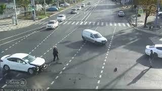 ДТП на ул. Северная и ул. Тургенева 28.10.2018