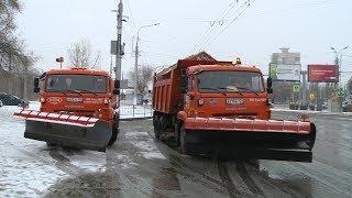 Дорожные службы Волгограда работают в усиленном режиме