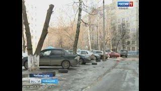 В чебоксарских дворах нашли около 9 тонн отработанных автомобильных шин