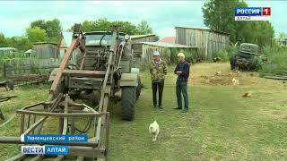 Житель Тюменцевского района изобретает полезную в хозяйстве технику