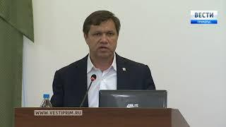 Виталий Веркеенко дал два наказа Думе Владивостока