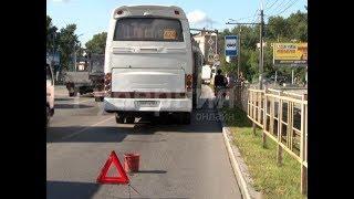 Автобус, в котором ехали 20 детей попал в ДТП в Хабаровске.  Mestoprotv