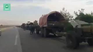 Сирия вернула север Хомса без боя: корреспондент ФАН запечатлел напугавшую боевиков колонну САА