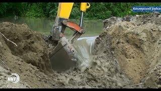 В озёрах Кизляра восстановят водоснабжение