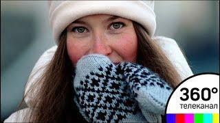 Зима не спешит уходить из столицы
