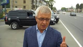 Игорь Астахов проверил дороги Хабаровска