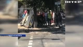 В Сумах в ДТП с участием патрульных пострадало 5 человек (видео)