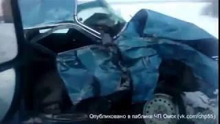 Последствия аварии у Пушкино (19.02.2018)
