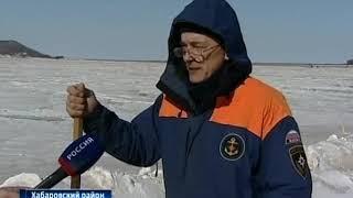 Закрытие ледовых переправ