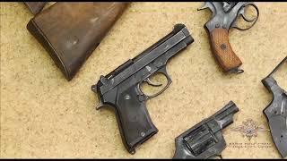 В Красноярском крае задержали подозреваемого в незаконном изготовлении и хранении оружия