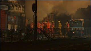 Взрыв в Лестере: есть пострадавшие