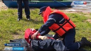 Безопасность на воде: спасатели провели учебные сборы для глав районов Марий Эл - Вести Марий Эл
