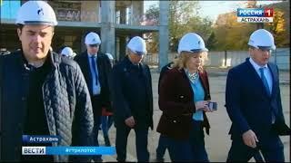 В Астрахани появится новый корпус православной гимназии, храм, ледовая арена, поликлиника и школа