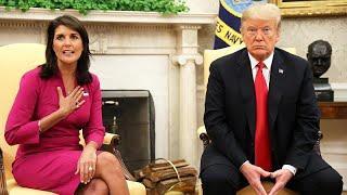 Постпред США при ООН Никки Хейли подала в отставку. Президент её принял (Axios)  …