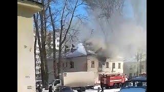 В Уфе загорелся барак в Черниковке