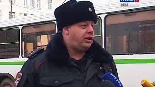 ГИБДД проверили общественный транспорт(ГТРК Вятка)