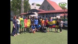 Иностранные студенты самарского университета учат футбольный сленг на русском языке