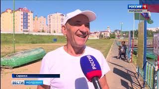 В Саранске прошли соревнования по гребле на лодках
