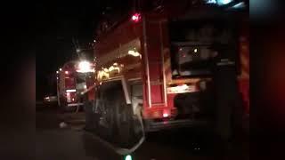 Хабаровск горит кафе Босфор 24 сент 2018