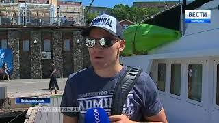 Яхтсмены Владивостока решили познакомить хоккеистов с атмосферой города
