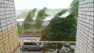 Последствия урагана в Кстово 30 мая