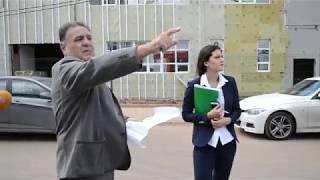Конфликт на стройке Центра гимнастики в Оренбурге