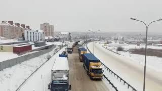 "Пробка на М-4 ""Дон"" 19.03.2018"