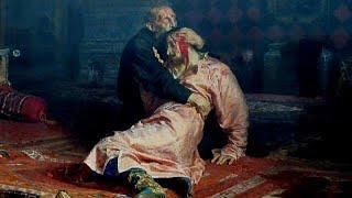 Вандал повредил картину Репина