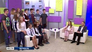 Студенты Школы телевидения сняли два сюжета и поучаствовали в съёмках программы