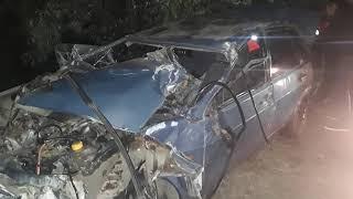 Электричка перевернула автомобиль под Джанкоем