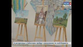 Красоты земли чувашской: участники Кокелевского пленэра представили свои работы