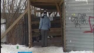 В Красноярске закроют пешеходную лестницу в районе улицы Копылова