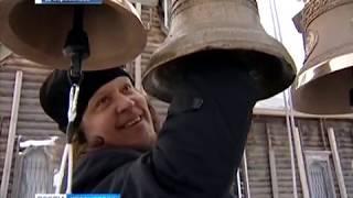 На деревянный храм в Барабанове установили колокола