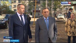 Глава Марий Эл с рабочим визитом посетил Волжск