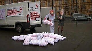 Лондон и Эр-Рияд: соглашения и протесты