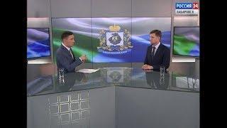 Интервью с губернатором Хабаровского края Сергеем Фургалом