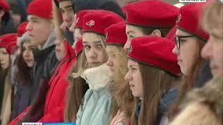 В Красноярске начали праздновать День защитника Отечества